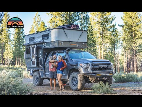 2019 Tundra 4x4 Camper Tour - One Couples Ultimate Tiny Home On Wheels