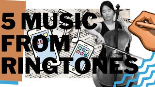 My 5 COPY RIGHT FREE music written off of the iPhone ringtones