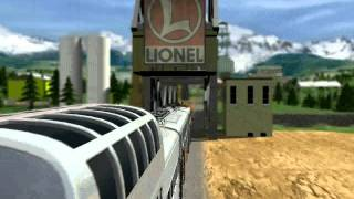 3D Ultra Lionel Traintown Deluxe Intro