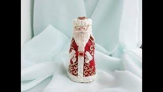 3д пряник Дед Мороз