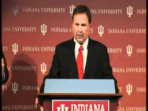 INDIANA UNIVERSITY PRESS CONFERENCE FOR KEVIN WILSON