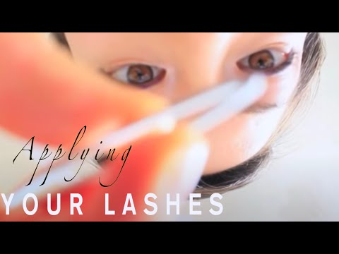 ASMR EYE SALON Lash Extensions Roleplay