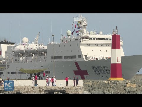 Chinese naval ship brings top health services to Venezuela