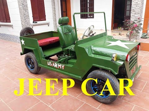 TECH - How to make the most detailed JEEP - Part 11