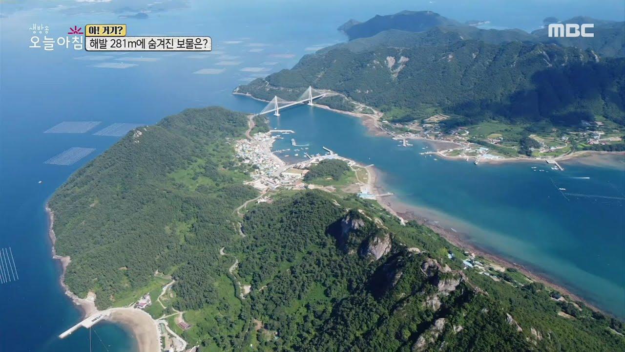[생방송 오늘 아침]자연이 만들어낸 작품 같은 섬 '사량도'!, MBC 210730 방송