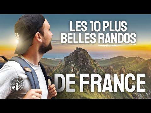 LES 10 PLUS BELLES RANDONNÉES DE FRANCE !