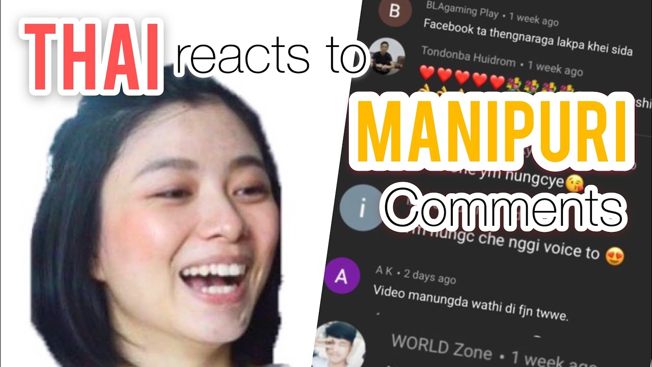 Thai reacts to Manipuri comments|Read+answer fluently|Thai reacts to northeast India comments