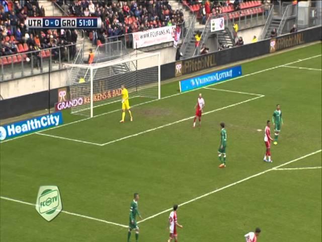 Samenvatting FC Utrecht - FC Groningen 1-0 (2014)