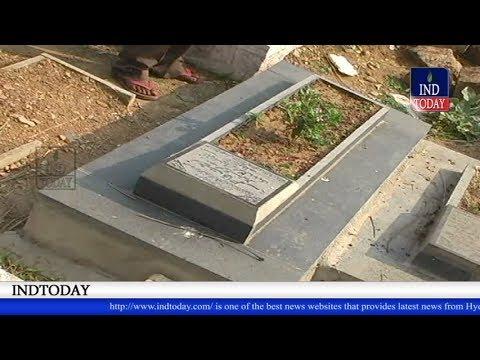 Mirchowk Police takeout body from the grave of Zeenath fatima of Yakutpura