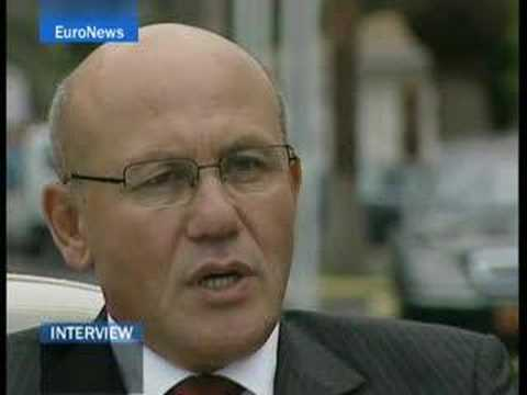 EuroNews -EN- Interview : northern Cyprus leader, Mehmet...