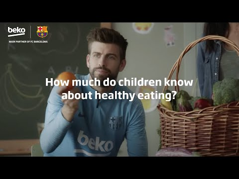 Football vs Food. How much do children know about healthy eating?