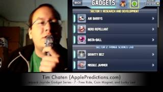 Jetpack Joyride Gadget Series - 7 - Free Ride, Coin Magnet and Lucky Last