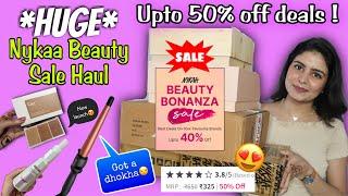 Huge Nykaa Sale Haul + Review | Upto 50% off | Buy or Not to Buy ? Kashika screenshot 3