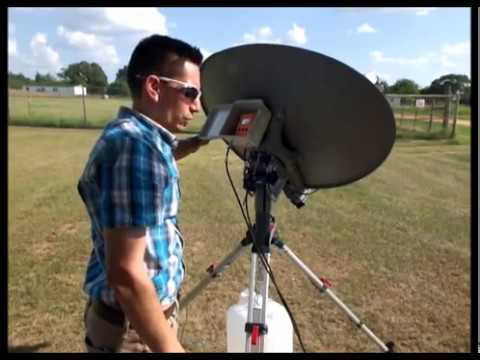 mobile satellite based internet for RVs