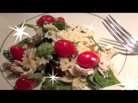 Lemony Summer time Pasta Salad