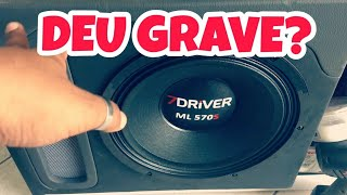 COLOQUEI MEDIO ML 570S 7 DRIVER NA CAIXA LABIRINTO DANDO GRAVE? TEST TOP #7DRIVER
