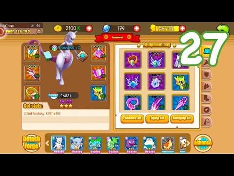 Pocket House 3D (Monster King 3D) - EQUIPMENT LVL 92 UPGRADE + CHAPTER 14 CLEARING!