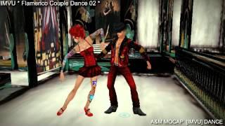 Flamenco Couple Dance 02 [IMVU] 3D Dance animation - A&M MOCAP