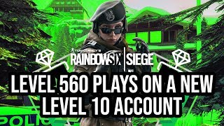 Level 560 Plays on A New Level 10 Account | Chalet Full Game