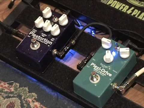 Wampler Plexi Drive vs Plextortion guitar effects demo with King Bee Tele