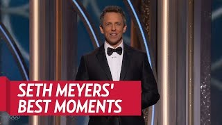 Seth Meyers Best Moments at the 2018 Golden Globes