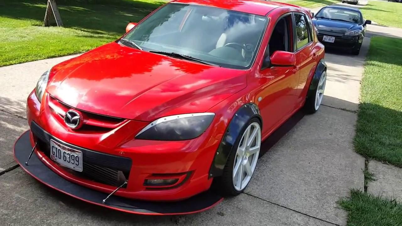 Mazdaspeed 3 Diy Custom Front Splitter Youtube