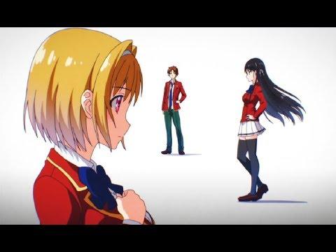 Youkoso Jitsuryoku Shijou Shugi no Kyoushitsu e OP/Opening HD「Caste Room」by ZAQ + Subs CC