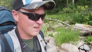 В ТАЙГУ ОДИН #2/Забрался в дикие места/Рыбалка на таёжной речке/Готовлю хариуса на рожнах/