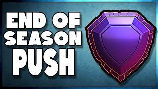 End of Season Legend League Trophy Push | Clash of Clans