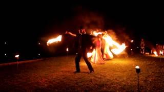 Фаер шоу на свадьбу. Бюджет 2500 грн