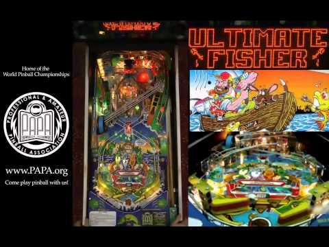 FISH TALES Pinball Machine (Williams 1992)- PAPA Video Tutorial (Part 2)