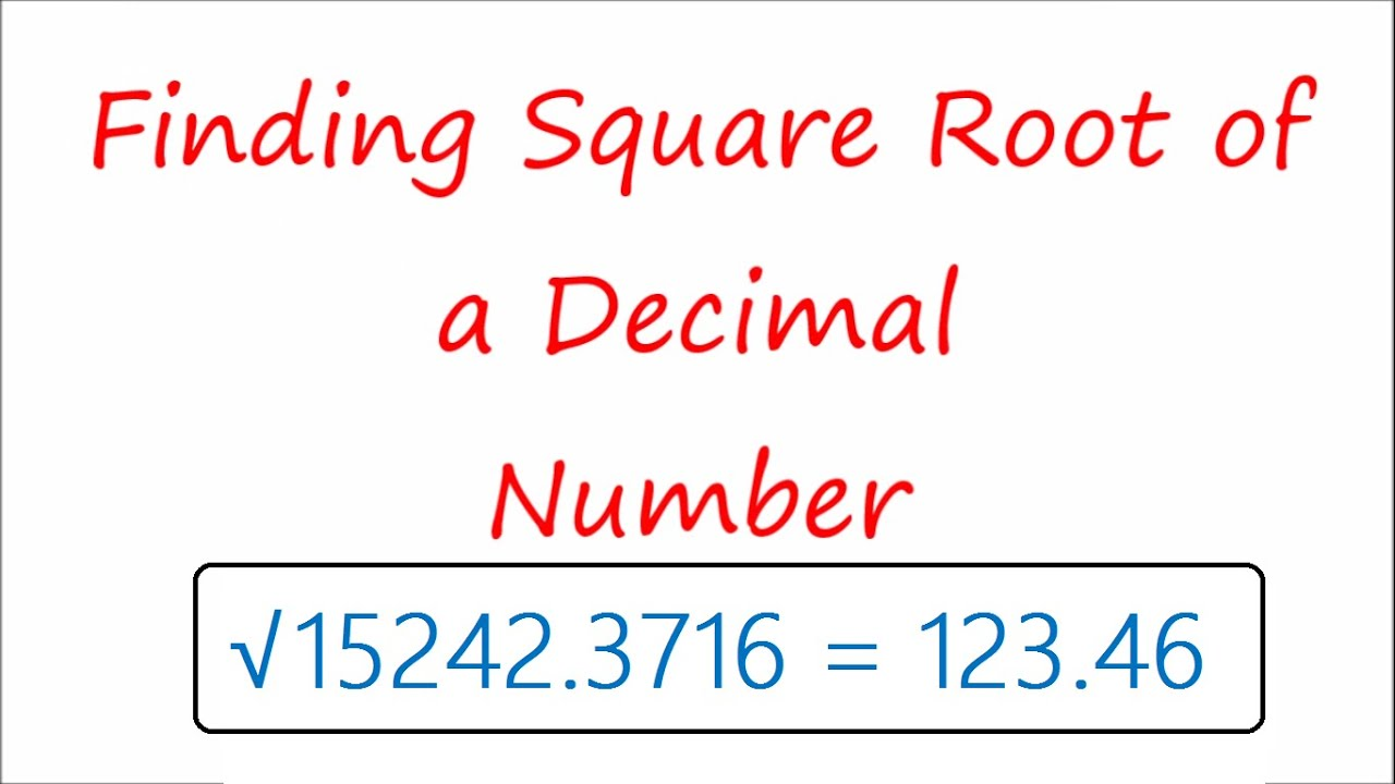 How to find the square root for a non perfect square  Team MAST Intended For Estimating Square Root Worksheet