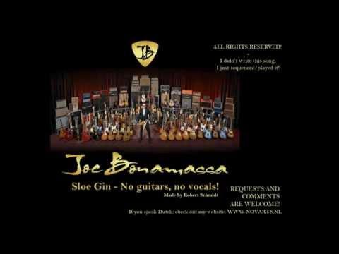 Joe Bonamassa - Sloe Gin Backing track PLAY AND SING ALONG