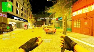 Counter Strike Source - Zombie Escape mod online gameplay on Atix Apocalypse Map