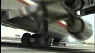 american airlines crash on highway