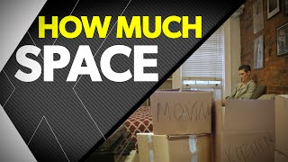 How Much Space Do You Really Need?   timesXtwo
