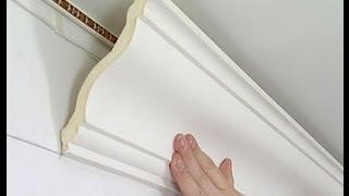 Потолочный плинтус(Плинтус потолочный (галтель, карниз) является важным элементом отделки потолка. Он придаёт законченность..., 2013-12-02T16:41:14.000Z)