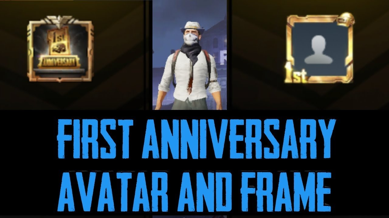 161b50489f858 First Anniversary Avatar and Frame Look