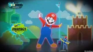 Super Mario Bros. en Just Dance 3 Gameplay