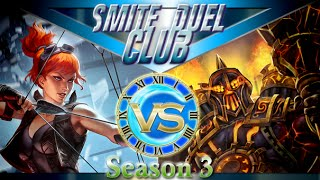 Firemarshal Artemis vs Vulcan - Duel Club 1v1 - Smite(Hello everybody and welcome to this installment of duel club. Its been a while for season 3 firemarshal to come up but since the removal of golden bow its ..., 2016-07-11T10:16:36.000Z)