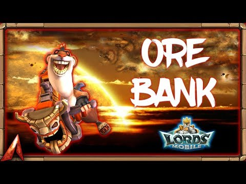 Found An Ore Bank With Billions Of Rss! Lords Mobile