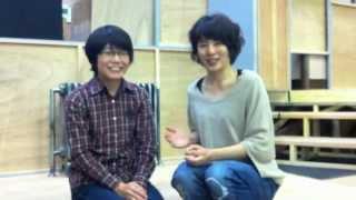 土田英生セレクションvol.2『燕のいる駅』出演者からの動画コメント 中...