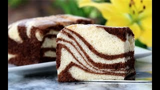 Video Zebra Stripe Japanese Cotton Sponge Cake download MP3, 3GP, MP4, WEBM, AVI, FLV Juli 2018