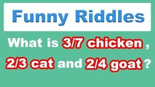 Funny Riddles With Answers That Will Trick Your Mind | IQ Test | Brain Teasers | Logic Puzzles