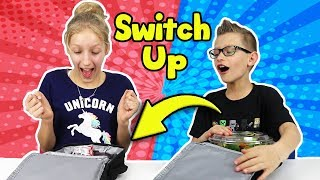 LUNCHBOX SWITCH UP CHALLENGE with Karina and Ronald! thumbnail