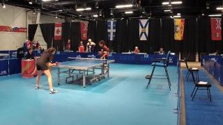 2019 CWG - Table Tennis - Men's/Women's Singles - Table 4