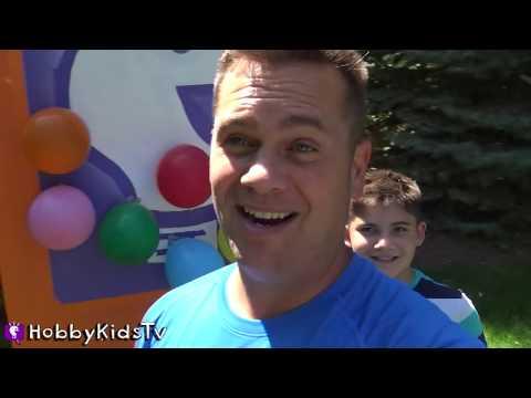THANOS BALLOON PENALTY! Game Challenge Inside Each Balloon by HobbyKidsTV