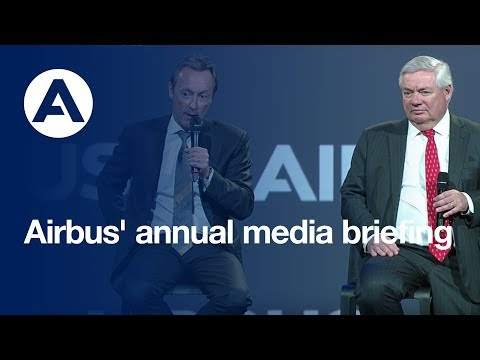 Airbus' annual media briefing - uncut version