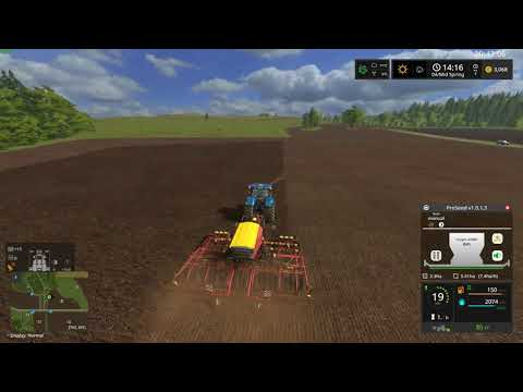 Farming Simulator 17 Timelapse - Episode 2 - Seeding grass  [READ THE DESCRIPTION]
