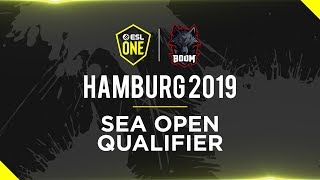 BOOM ESPORTS | ESL One Hamburg 2019 Southeast Asia Open Qualifier